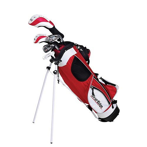 Boys Age 9-12 Tour Edge HT Max-J Junior Right Hand 4x1 Golf Club & Bag Set