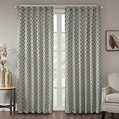 Madison Park Erika Jacquard Window Curtain