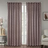 Madison Park 1-Panel Erika Jacquard Window Curtain