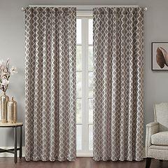 Madison Park Erika Jacquard Window Curtain