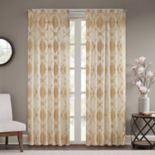Madison Park Capella Clip Window Curtain