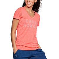 Women's Under Armour Tech V-Neck Twist Graphic Tee