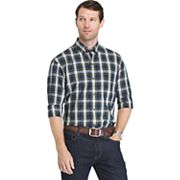 Men's IZOD Regular-Fit Tartan Plaid Button-Down Shirt