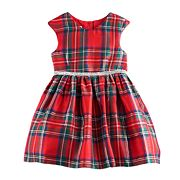 Toddler Girl Marmellata Classics Red Plaid Dress