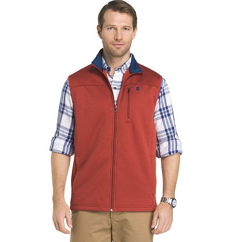 Men's IZOD Advantage Sportflex Regular-Fit Performance Fleece Vest