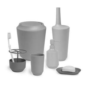 Umbra Fiboo Toilet Bowl Brush & Caddy