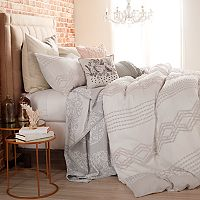 Peri Cut Geometric Duvet Cover