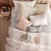 Peri Cut Geometric Pillow Sham