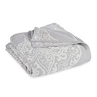 Peri Woven Damask Blanket