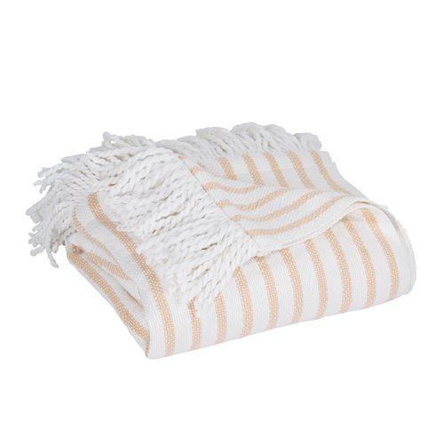 Peri Fringe Throw