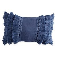 Peri Fringe Throw Pillow