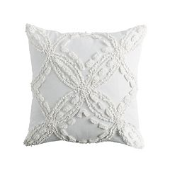 Peri Metallic Chenille Throw Pillow