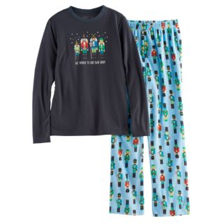 Boys 4-20 Jammies For Your Families Nutcracker Top & Fleece Bottoms Pajama Set