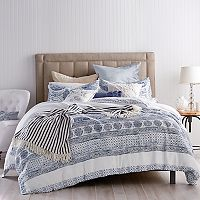 Peri Matlasse Medallion Duvet Cover Set