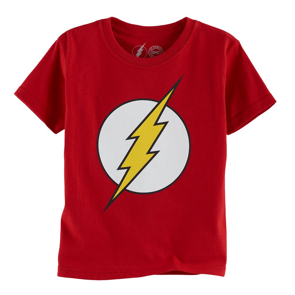 Boys 4-7 DC Comics The Flash Logo Graphic Tee