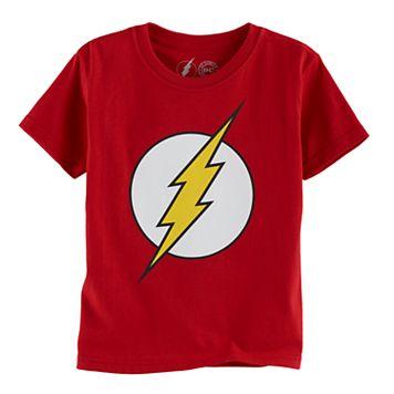Boys 4-7 DC Comics The Flash Logo Graphic Tee