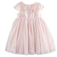 Baby Girl Marmellata Classics Foiled Dot Tulle Dress