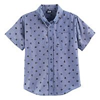 Boys 8-20 Star Wars Button-Down Shirt