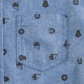 Boys 8-20 Star Wars Button-Down Shirt