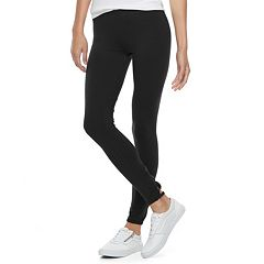 Juniors' SO® Lattice Back Leggings