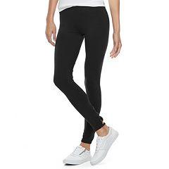 Juniors' SO® Lattice Back Leggings