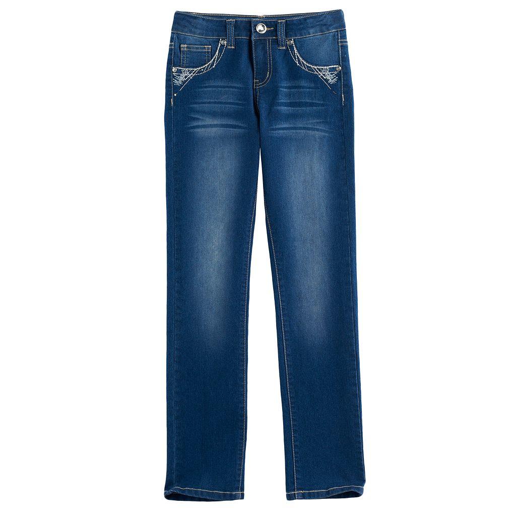 Girls 7-16 Freestyle Revolution Rhinestone Embellished Bootcut Jeans