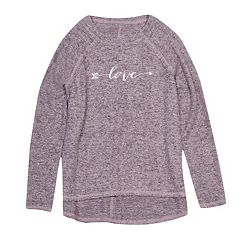 Girls 7-16 Harper & Elliott Hatchi Raglan Graphic Tee