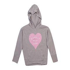 Girls 7-16 Harper & Elliott Graphic Pullover Hoodie