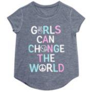 Girls 7-16 & Plus Size Harper & Elliott Curve Hem Graphic Tee