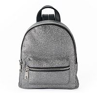 madden NYC Glitter Mini Dome Backpack