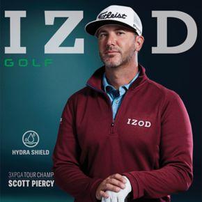 Men's IZOD Hydra Shield Stretch Quarter-Zip Golf Pullover