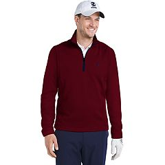 Men's IZOD Hydra Shield Stretch Quarter-Zip Golf Pullover
