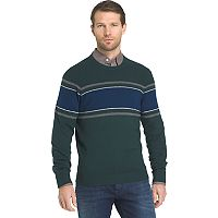 Men's IZOD Regular-Fit Striped Wool-Blend Crewneck Sweater