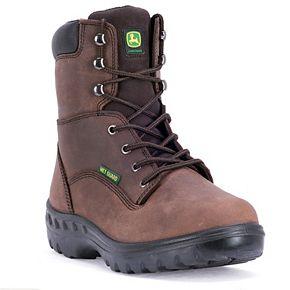 John Deere WCT Men's Waterproof Steel Toe Work Boots - JD8604