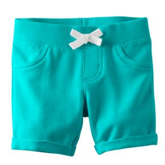 Toddler Girl Jumping Beans® Ribbed Waist Jegging Shorts