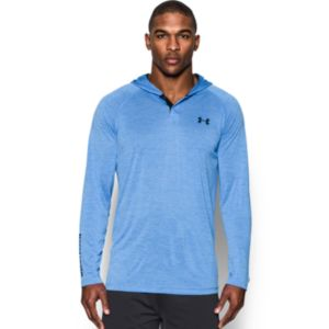 Men's Under Armour Tech Popover Henley Hoodie