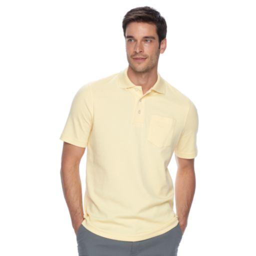 Men's Croft & Barrow® Signature Pocket Polo