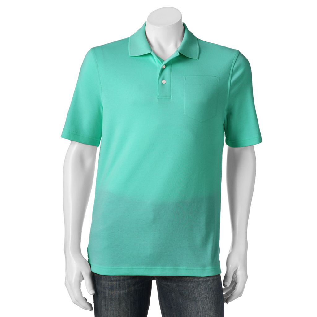 Men's Croft & Barrow® Signature Pocket Polo