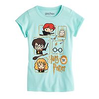 Girls 7-16 Harry Potter Harry Potter, Hermione & Ron Weasley Glitter Graphic Tee