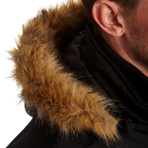 Big & Tall Excelled Puffer Hooded Jacket