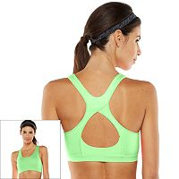 Tek Gear® Bra: Core Essentials Racerback High-Impact Sports Bra