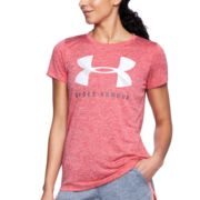 Women's Under Armour Tech Crewneck Twist Graphic Tee
