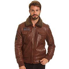 Men's Excelled  Lambskin Leather A2 Flight Jacket