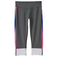 Girls Plus Size SO® Colorblock Yoga Capri Pants