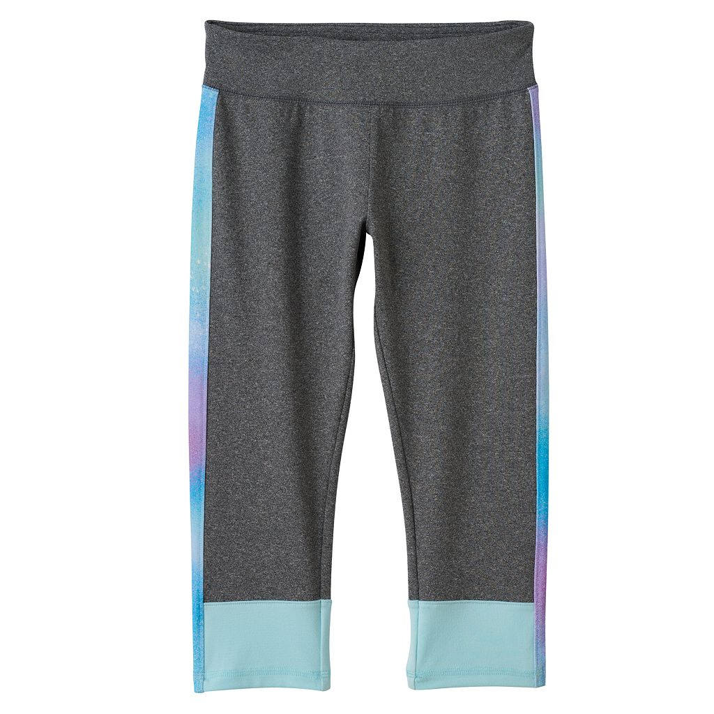 Girls 7-16 SO® Colorblock Yoga Capri Pants
