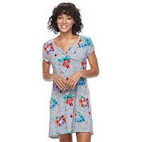 Juniors' SO® Henley Swing Dress