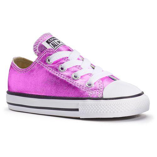 715fe5a1e16783 Toddler Converse Chuck Taylor All Star Metallic Shoes