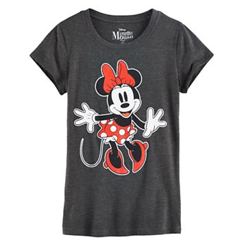 Disney's Minnie Mouse Girls 7-16 Dancing Graphic Tee