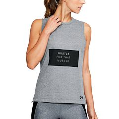 Women's Under Armour 'Hustle Muscle' Graphic Tank