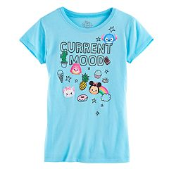 Disney's Tsum Tsum Girls 7-16 'Current Mood' Graphic Tee